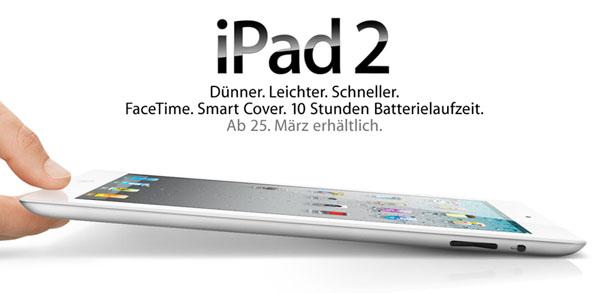 Ein iPad 2 zu gewinnen